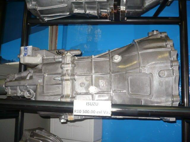 GEARBOXES FOR SALE: Isuzu