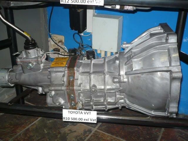 GEARBOXES FOR SALE: Toyota VVT